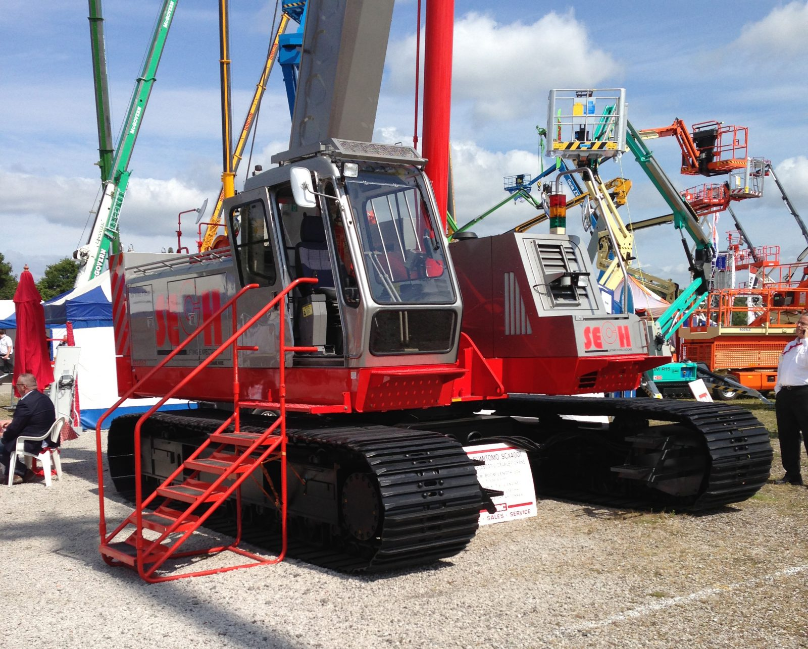 Crawler Crane Hire Argyllshire